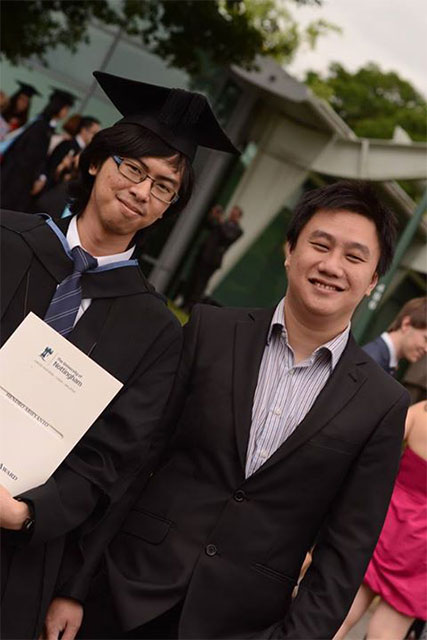 Hendro, BINUS, Double Degree, Nottingham, UK