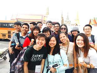 Elizabeth Charlotte Widjojo: ASEAN Youth Exchange Program 2015 at Chulalongkorn University, Thailand
