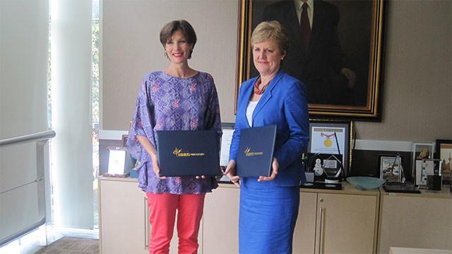 BINUS UNIVERSITY and Edinburgh Napier University Establish Cooperative Partnership