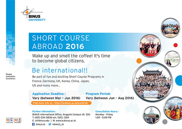 BINUS Short Course 2016