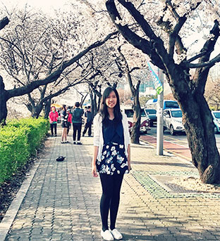 Ivana Monica: Exchange to Kyung Hee University, South Korea