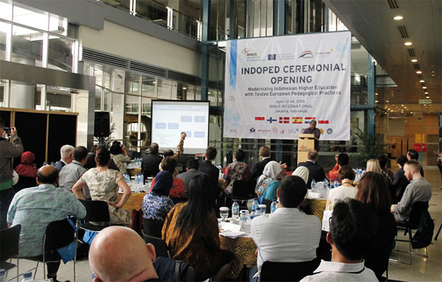 INDOPED–Sharing Knowledge on Student Centered Teaching