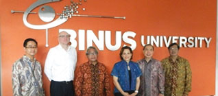 BINUS UNIVERSITY Welcomes Australian Government Delegation