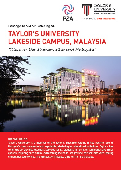 Visit malaysia cultural immersion with taylor university m4hsunfo