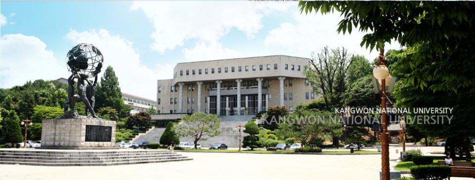 Scholarship from Kangwon National University, South Korea!