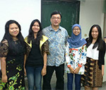 Anindita, Clarissa, Nurul Yunita, Bathia Pratiwi, International Relations Exchange at Cheng Shiu University, Taiwan (Fall 2014)