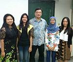 Anindita, Clarissa, Nurul Yunita, Bathia Pratiwi, International Relations Exchange at Cheng Shiu University, Taiwan (Fall 2014)