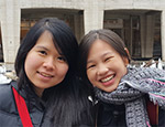 Dorothea Agustina Sugiharto & Freline Kho, New Media  Exchange at Queens University of Charlotte, United States of America (Spring 2015)