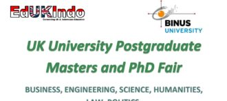 Come and Join UK University Postgraduate Masters and PHD Fair!