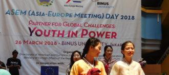BINUS UNIVERSITY Hosts ASEM Day 2018