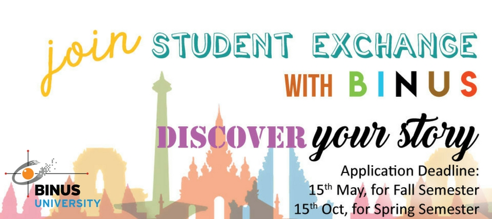 Join Student Exchange with BINUS
