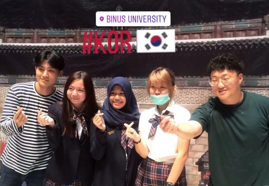 BINUS UNIVERSITY Hosts Korean Cultural Event