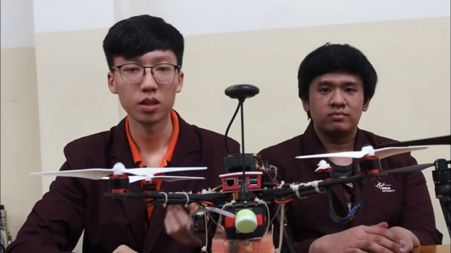 Changing the Future with CAKRA, an Automatic Pesticide Drone Made by BINUS Students